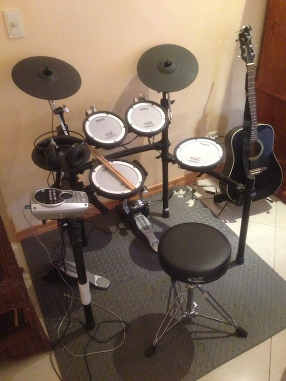 Ma TD-15K V-Tour Series de Roland - ça c'est de la bonne V-Drums !